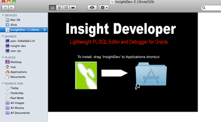 Insight Developer - Oracle Database Tools,Instant Client for Oracle